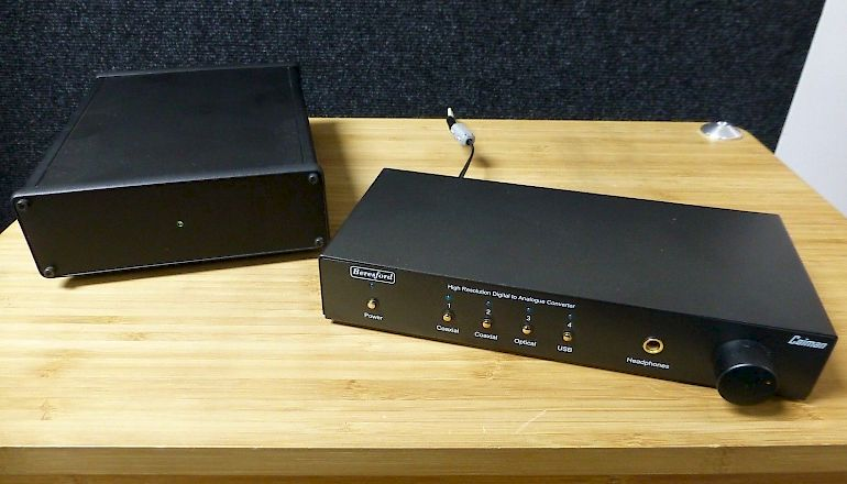 Image of Used  Beresford Caiman Digital To Analogue Converter  for sale