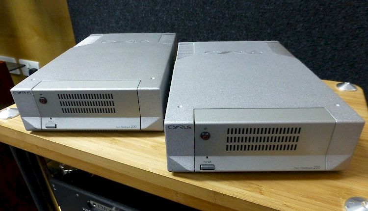 Thumbnail Image of Cyrus Mono X200 Mono Power Amplifiers For sale at iDreamAV