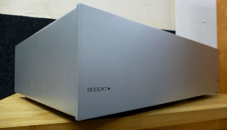 Image of Used  Audiolab 8000X7 Stereo Power Amplifier  for sale