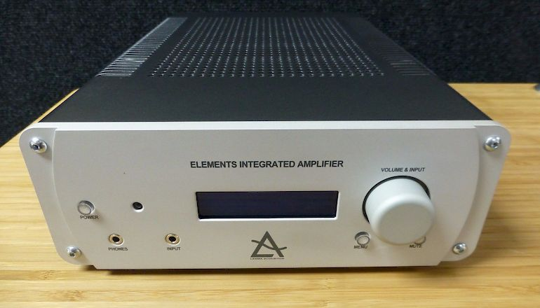 Image of Used  Leema Elements Integrated Amplifier with DAC  for sale