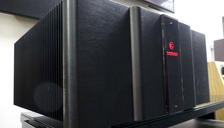 Image of Used  Karan Acoustics KAS270 Dual Mono Power Amplifier  for sale