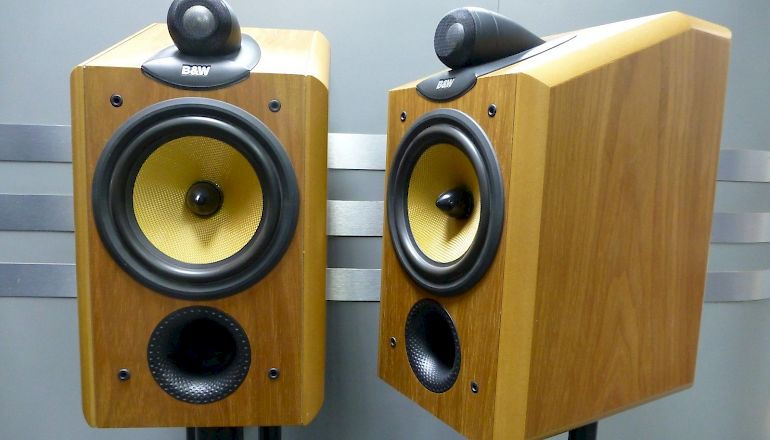 Image of Used  Bowers & Wilkins CDM1NT Standmount Speakers  for sale