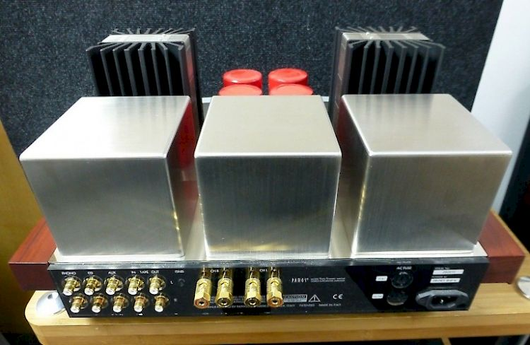 Image of Pathos Twin Towers Valve Tube Integrated Amplifier For sale at iDreamAV
