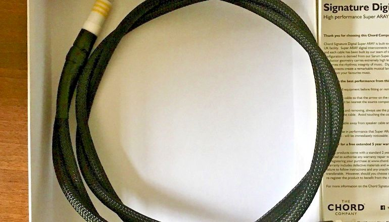 Image of Used  Chord Company Signature Digital Super ARAY Digital RCA to BNC 1M  for sale