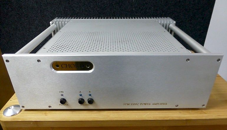 Image of Used  Chord Electronics SPM 1200C Stereo Power Amplifier  for sale