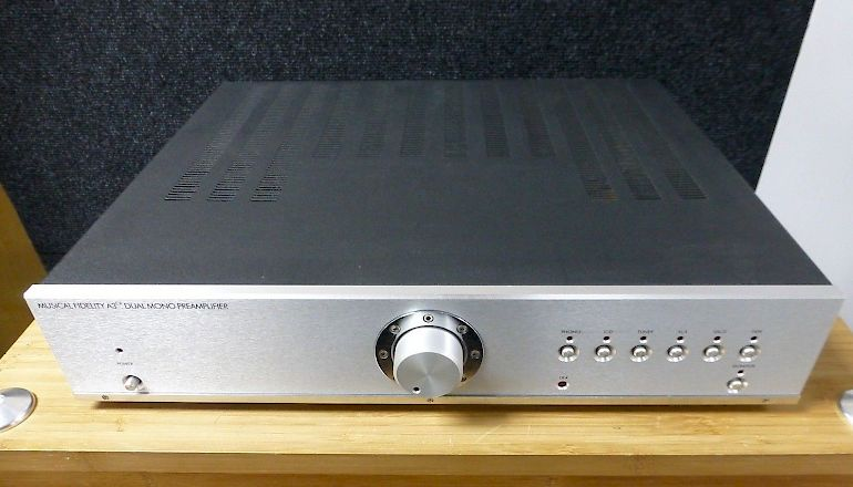 Image of Used  Musical Fidelity A3CR Dual Mono Pre-Amplifier  for sale