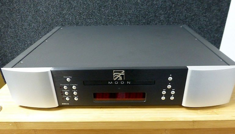 Image of Used  Simaudio Moon Neo250D CD transport & DAC  for sale