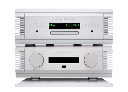 Thumbnail Image of Musical Fidelity Musical Fidelity Nu Vista 800 Amplifier and Nu Vista CD combination For sale at iDreamAV