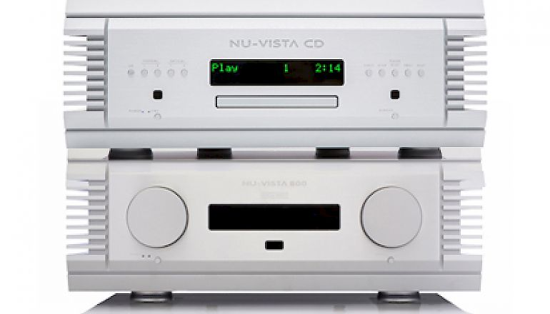 Image of Ex-demo  Musical Fidelity Nu Vista 800 Amplifier and Nu Vista CD combination  for sale