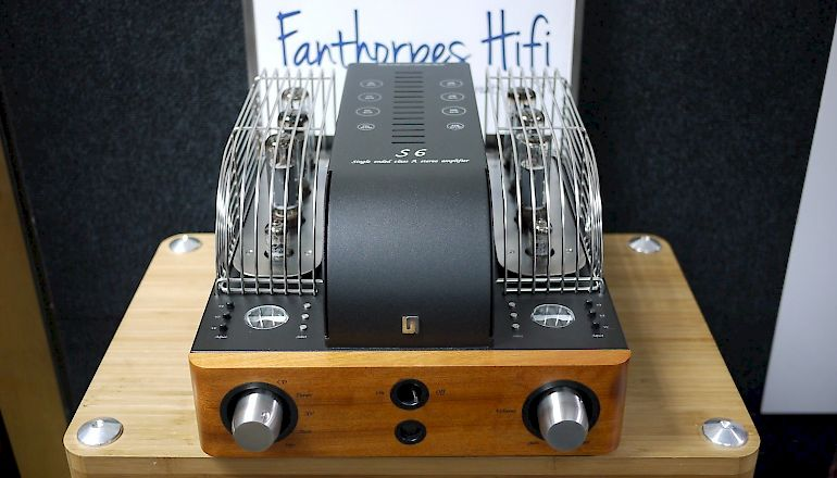 Image of Used  Unison Research S6 Integrated Valve Amplifier  for sale