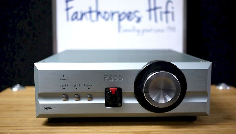 Image of Used  Pass Labs HPA-1 Headphone Amplifier  for sale