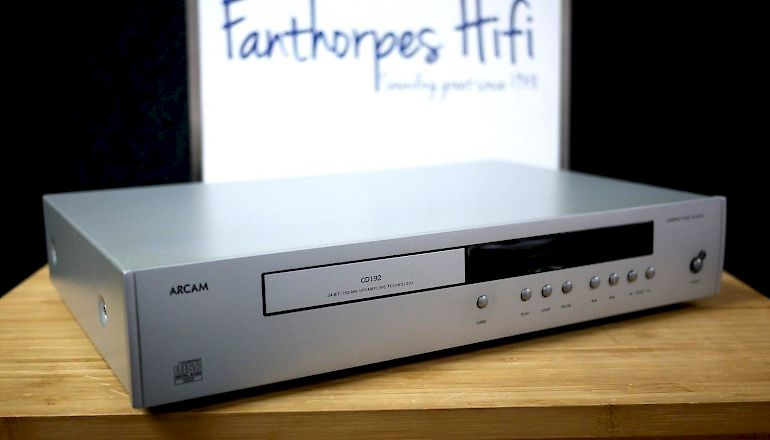 Image of Used  Arcam DiVA CD192 CD Player  for sale
