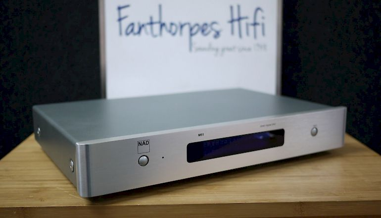 Image of Used  NAD M51 DAC and Digital Preamplifier  for sale