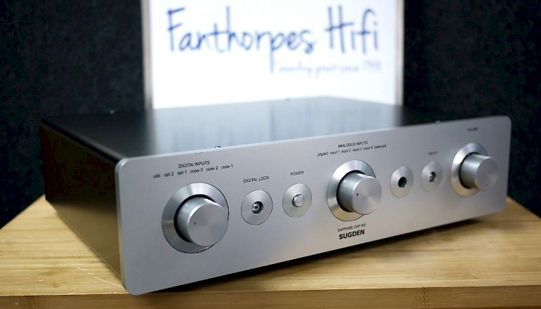 Image of Used  Sugden DAP800 DAC Pre Amplifier  for sale