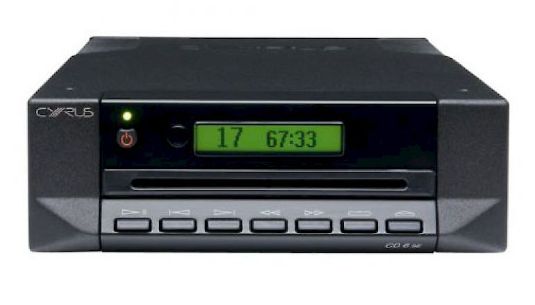 Image of Used  Cyrus CD6SE2 CD Player Black (Pre-Owned)  for sale