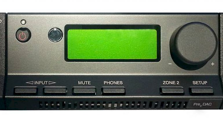 Image of Used  Cyrus Pre 2 DAC Preamp Black (Pre-Owned)  for sale