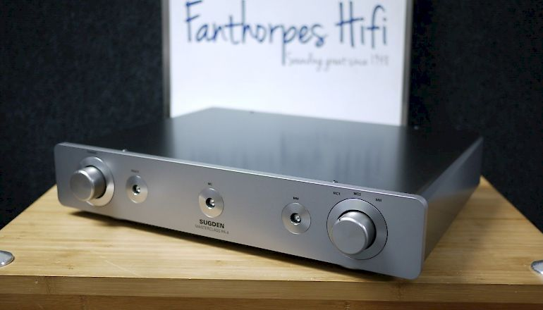 Image of Used  Sugden Masterclass PA-4 Phono Amplifier  for sale