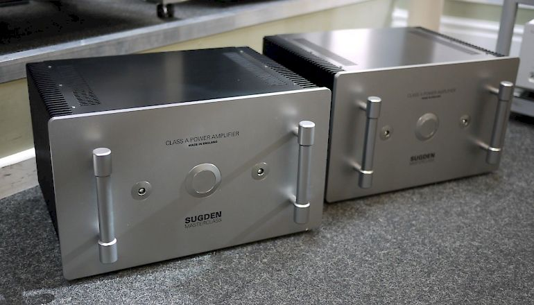 Image of Used  Sugden Masterclass MPA-4 Mono Power Amplifiers  for sale