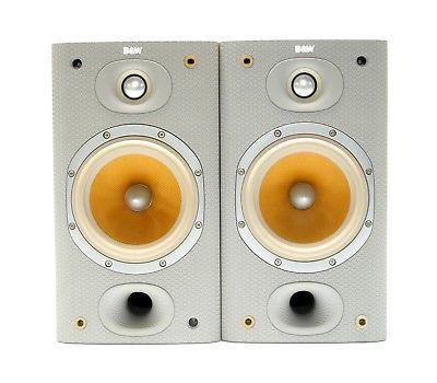 Image Of Bowers Wilkins DM601 S3 Bookshelf Speakers Light Oak Sorrento Pre Owned