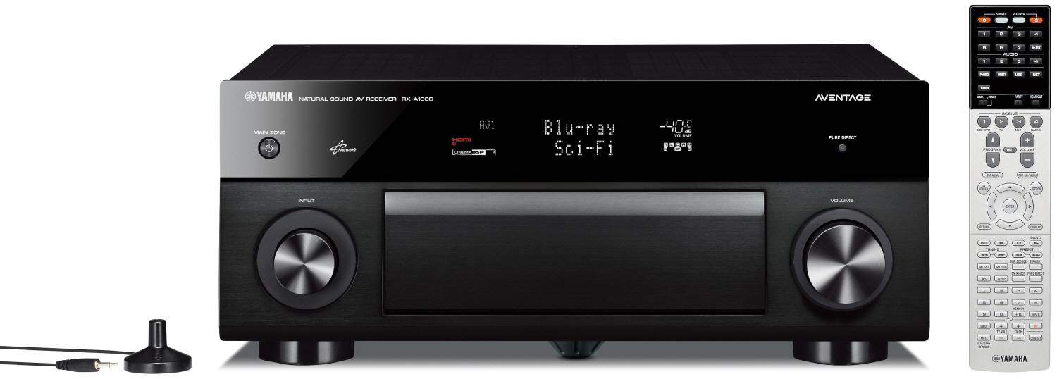 Picture of Yamaha RXA1030 7.2 AV Amplifier Black (Pre-Owned)
