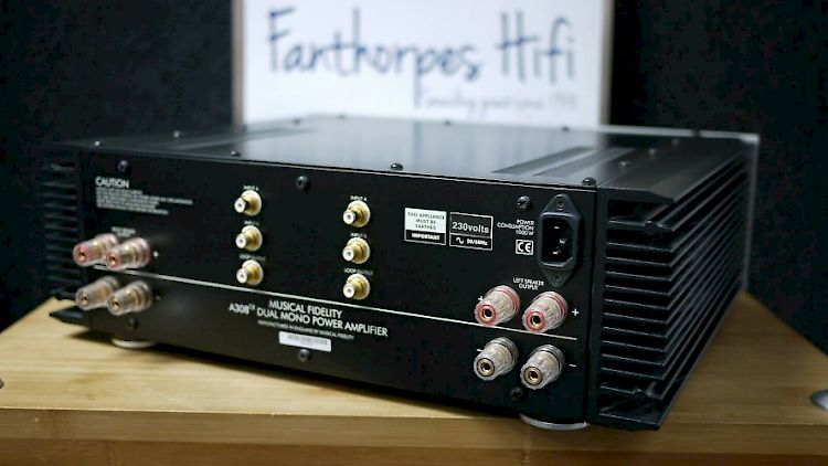 Image of Musical Fidelity A308CR Dual Mono Power Amplifier For sale at iDreamAV