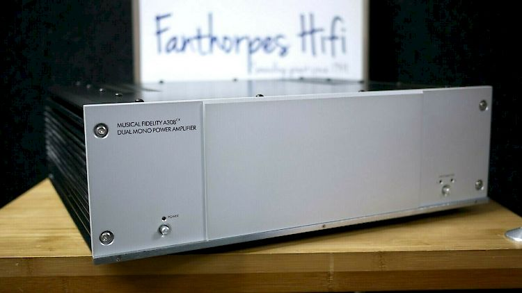 Thumbnail Image of Musical Fidelity A308CR Dual Mono Power Amplifier For sale at iDreamAV