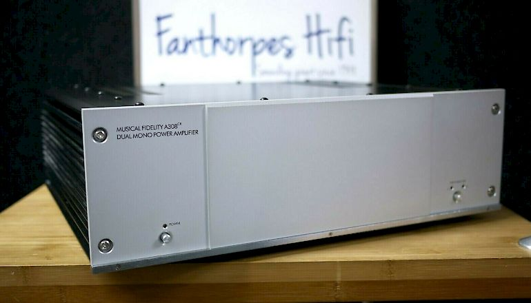 Image of Used  Musical Fidelity A308CR Dual Mono Power Amplifier  for sale