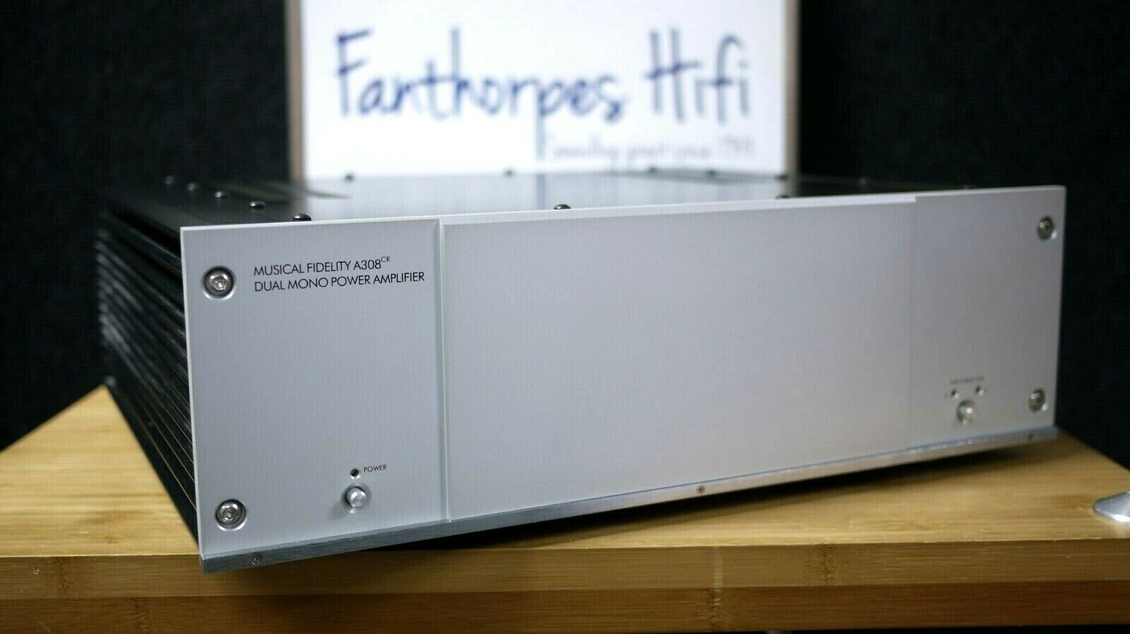 Picture of Musical Fidelity A308CR Dual Mono Power Amplifier