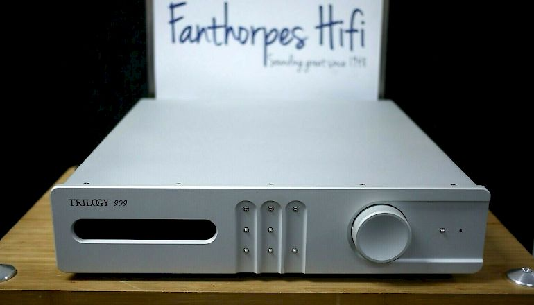 Image of Used  Trilogy 909 Pre-Amplifier  for sale