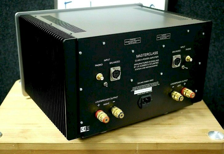 Sugden Masterclass SPA-4 Power amps (stereo) For Sale in