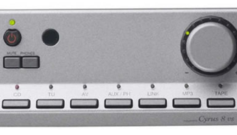 Image of Used  Cyrus 8VS Amplifier Quartz Silver (Pre-Owned)  for sale