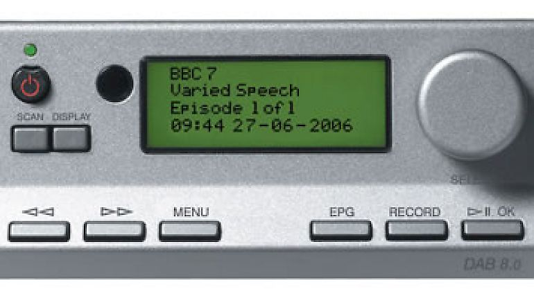 Image of Used  Cyrus DAB 8.0 Tuner Quartz Silver (Pre-Owned)  for sale