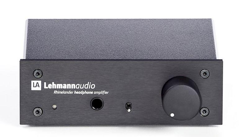 Image of Used  Lehmann Audio Rhinelander Headphone Amplifier Black (Pre-Owned)  for sale