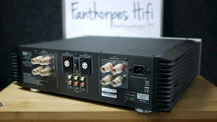 Image of Musical Fidelity M6 PRX Stereo Power Amplifier For sale at iDreamAV