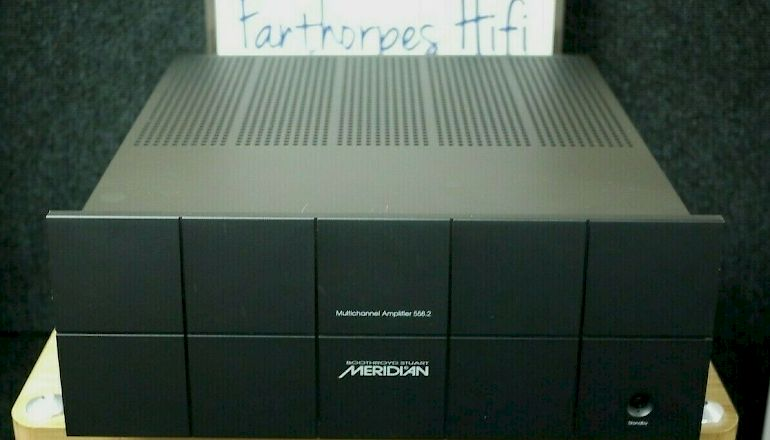 Image of Used  Meridian Audio 558.2 Multi-Channel Power Amplifier  for sale