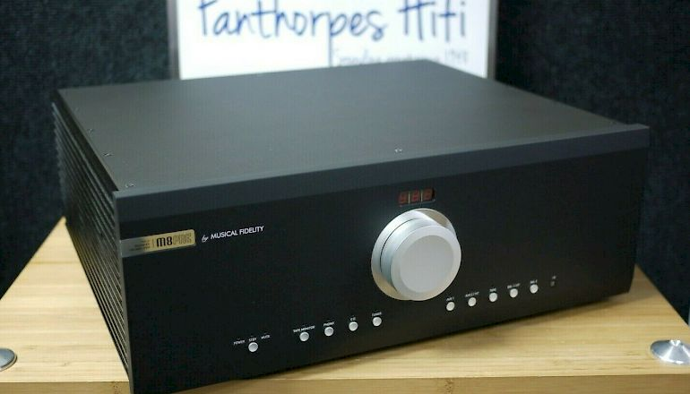 Image of Used  Musical Fidelity M8PRE Pre-Amplifier  for sale
