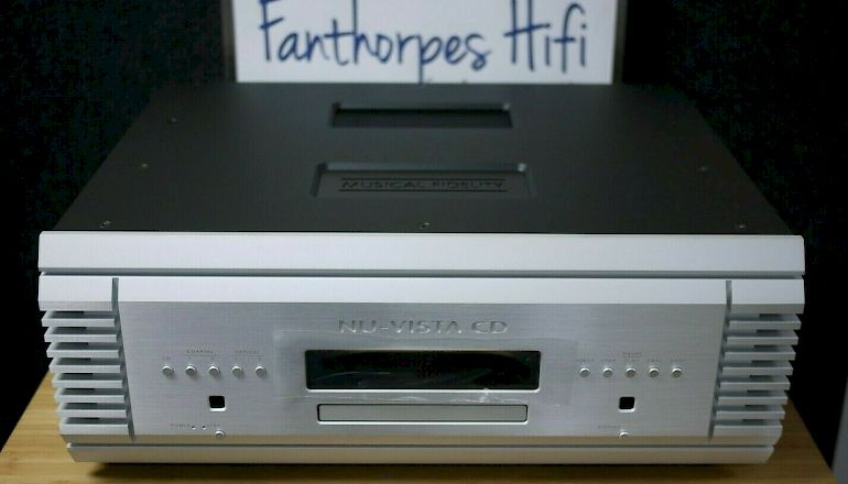 Image of Used  Musical Fidelity Nu-Vista CD Player  for sale