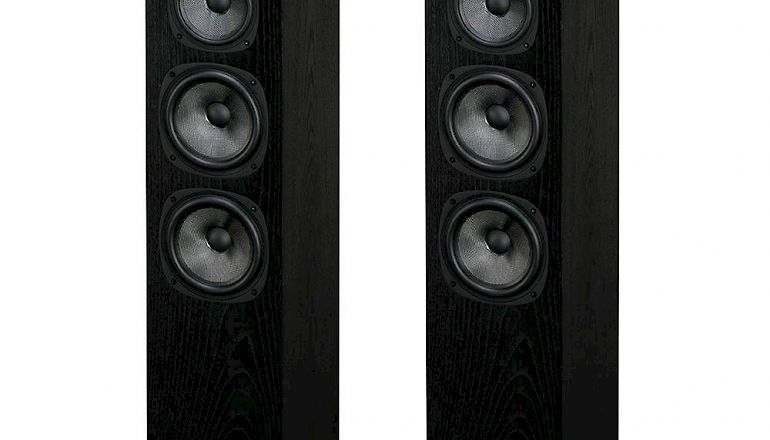 Image of Ex-demo  Quad S-5 Speakers Black Oak (Display Model)  for sale