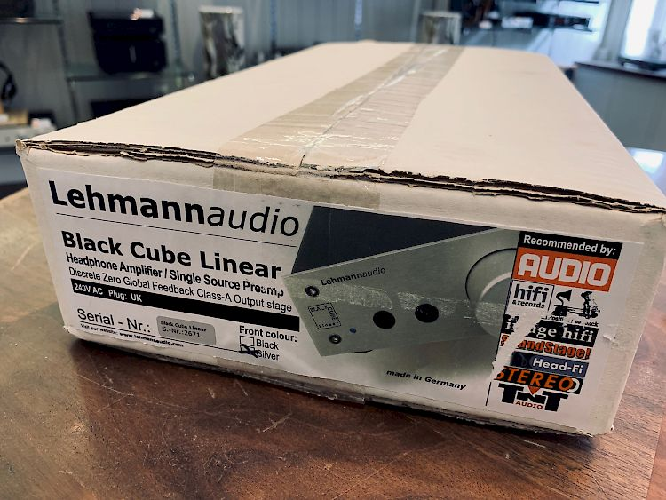 Image of Lehmann Audio Black Cube Linear For sale at iDreamAV