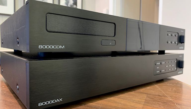 Image of Used  Audiolab 8000CDM & 8000DAX  for sale