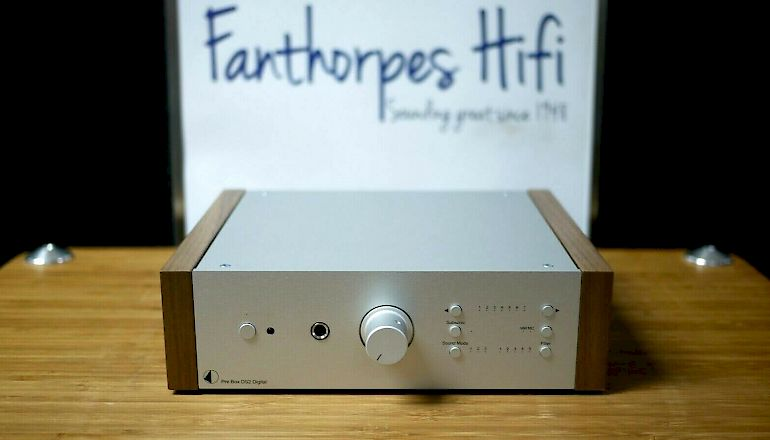 Image of Used  Pro-ject Pre-Box DS2 Digital Pre-Amplifier  for sale