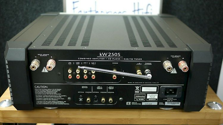 Image of Musical Fidelity KW250s All in One For sale at iDreamAV