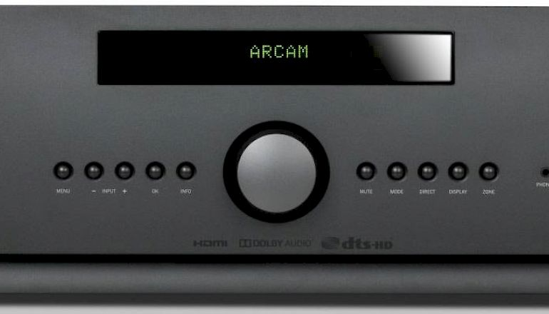 Image of Used  Arcam AVR850 AV Receiver (Pre-Owned)  for sale
