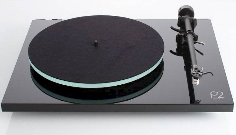 Image of Used  Rega Planar 2 Turntable Gloss Black (Pre-Owned)  for sale