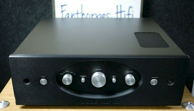 Image of Used  Rogue Audio Pharaoh Tube Hybrid Integrated Amplifier  for sale