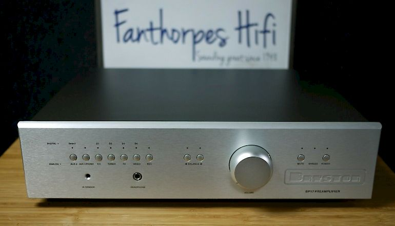 Image of Used  Bryston BP-17 Pre-Amplifier  for sale