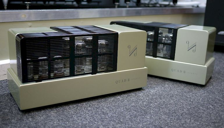 Image of Used  Quad II Eighty Mono Valve Power Amplifiers  for sale