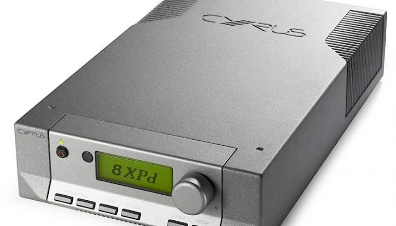 Image of Used  Cyrus 8XPD Amplifier Quartz Silver (Pre-Owned)  for sale