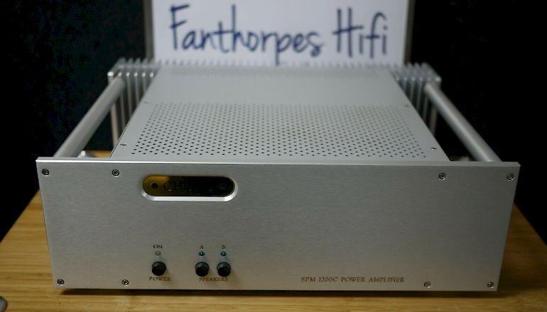 Image of Used  Chord Electronics SPM1200C Stereo Power Amplifier  for sale