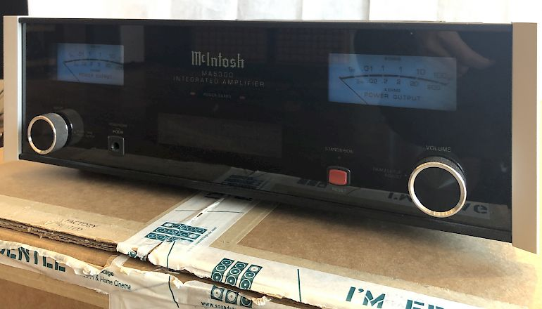 Image of Ex-demo  McIntosh MA5300 Integrated Amplifier  for sale